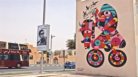 graffiti wallpaper dubai could the next banksy come from dubai cnn com