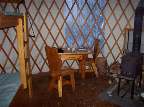 Cabin Cing In Michigan by Porcupine Mountains Yurt