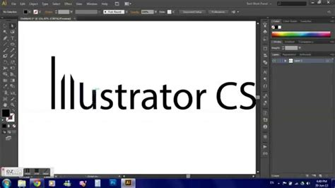 Outline Text In Photoshop Cs5 Mac by How To Create Modify Text Outlines In Illustrator Cs6 Cs5