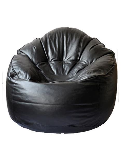 Leather Bean Bag Sofa Buy Tjar Leather Bean Bag Sofa Cover From Tjar Traders India Id 1538210