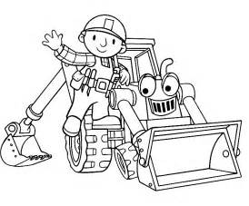 bob the builder coloring pages free printable bob the builder coloring pages for
