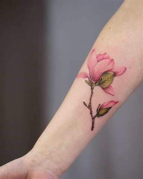 magnolia tattoos 35 lovely magnolia designs amazing ideas