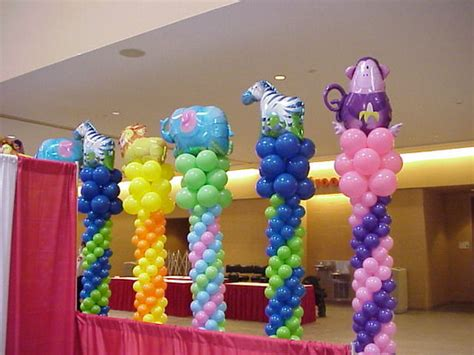 Balloon Tower For Baby Shower by Balloons For All Occasions Air Expressions Balloon Towers