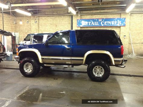 1999 2 Door Tahoe by 1999 Chevy Tahoe 2 Door Lifted