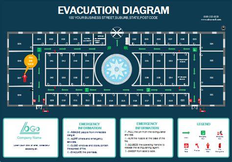 escape route template free hotel escape plan templates