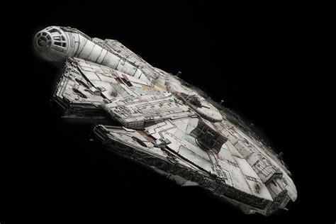 1 144 Millenium Falcon The Awakens bandai x wars the awakens 1 144 millennium falcon modeled by wtfhi photoreview many