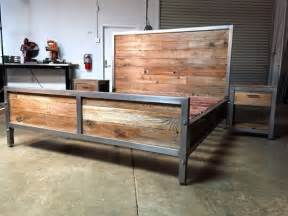 Bed Frame Wood Or Metal 25 Best Ideas About Welded Furniture On Diy