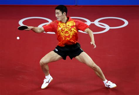 Olympic Table Tennis by Wang Hao In Olympics Day 14 Table Tennis Zimbio