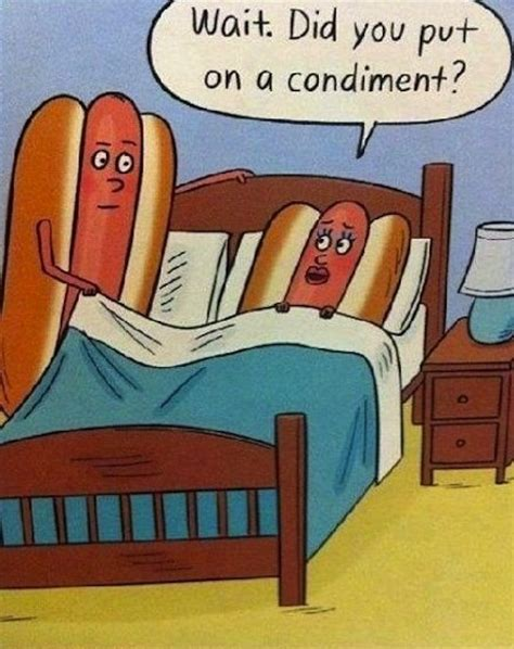 funny hot dog pic hot dog condiment sex cartoon silly bunt
