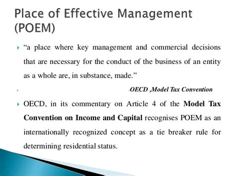 model tax convention on income and on capital condensed version 2017 volume 2017 books concept of residence income tax act with the