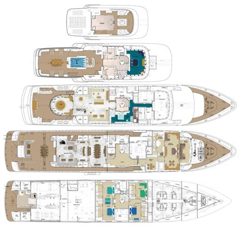 luxury yacht floor plans layout image gallery luxury yacht gallery browser