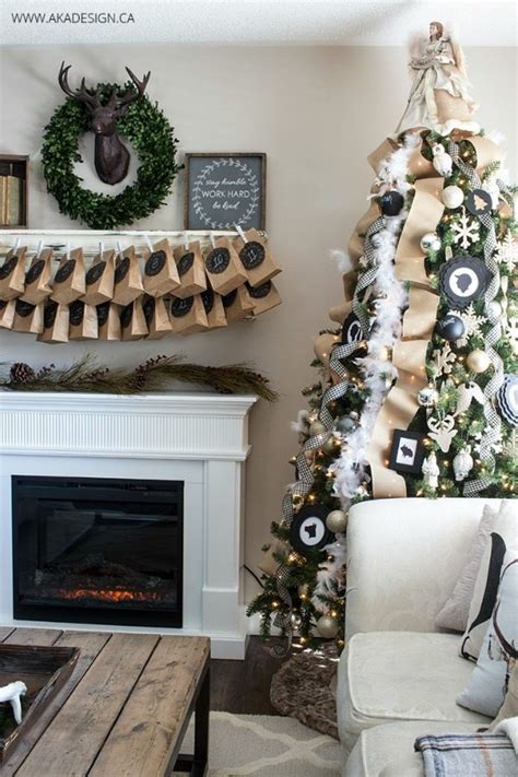 aka home decor gold and silver christmas tree ideas refresh restyle