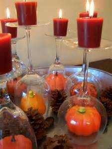 Gourd Vases Simple Diy Fall Centerpieces