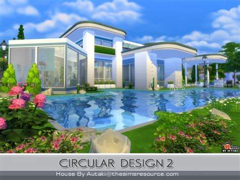 home design resources the sims resource circular modern design 2 by autaki