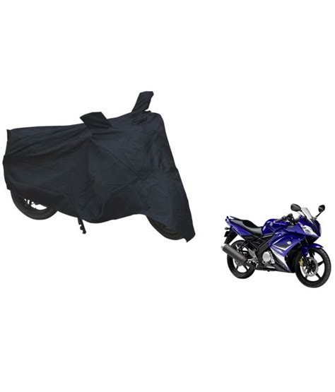 Cover Motor Yamaha Vixion Size Xl spidy moto black waterproof bike cover for yamaha yzf r15 buy spidy moto black waterproof