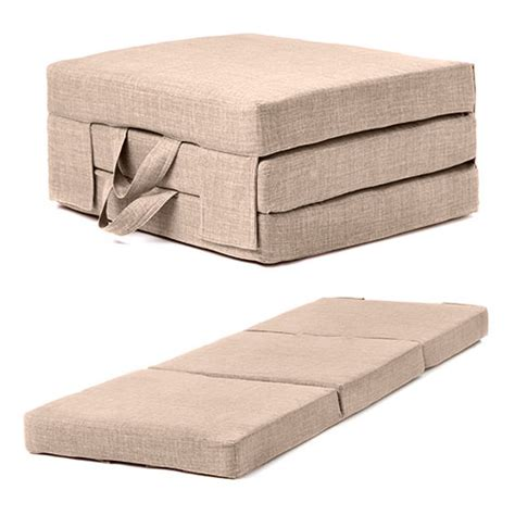 Fold Out Guest Mattress Foam Bed Single Double Sizes Folding Sofa Bed Mattress