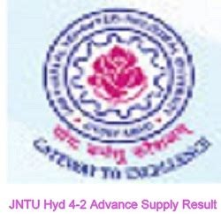 Jntu Mba Courses by Jntuh 4 2 Advance Supply June July Result 2017 R13 R09 R07