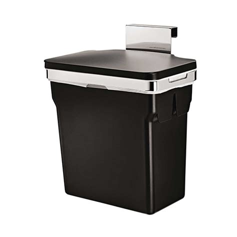 simplehuman in cabinet trash can best kitchen trash can reviews and buying guide my