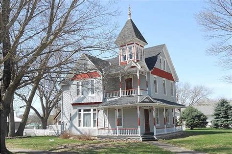 old house real estate victorian house in armstrong iowa circa old houses old houses for sale and