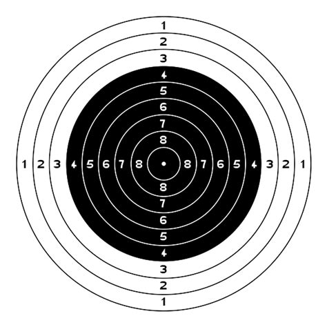 printable targets airguns airgun pellet and bb trap archer air rifles