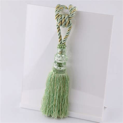 decorative curtain tie backs newest curtain tiebacks smooth tassel drape holdbacks
