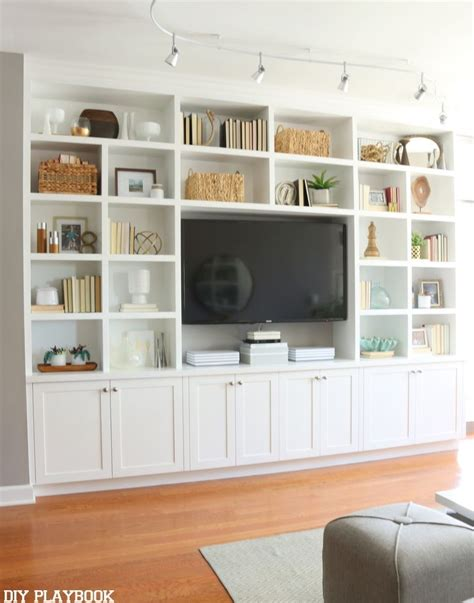 best 10 wall unit decor ideas on tv wall