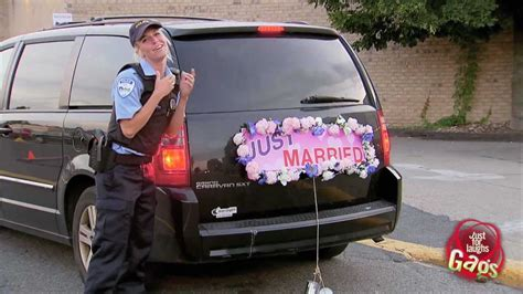 Wedding Car Pranks by Just Married Prank