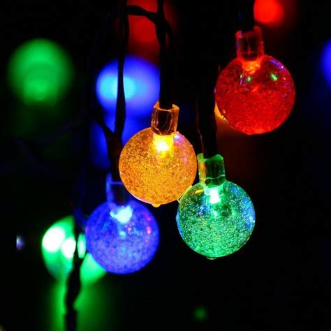 eco friendly led hanging ball l outdoor solar christmas