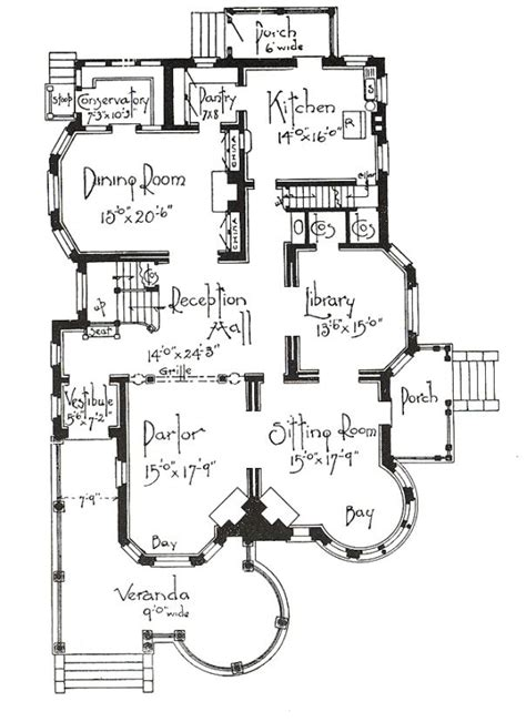 george f barber house plans george f barber homes 1st floor plan classic homes pinterest