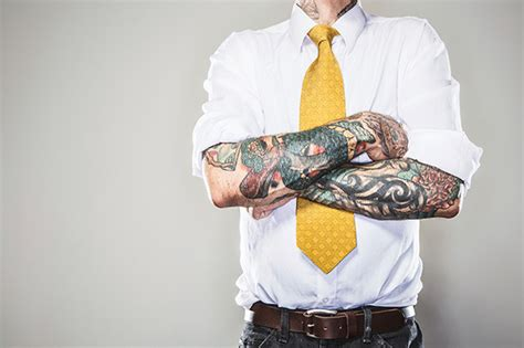 tattoo receptionist interview questions should you cover up tattoos for a job interview monster com