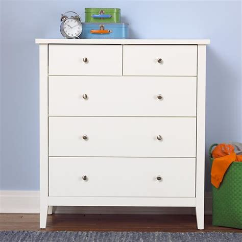Dresser White by White 2 3 Drawer Dresser The Land Of Nod