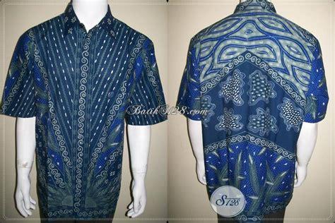 Gamis Batik Gamis Batik Gs48 Biru Bigsize Ukuran Besar Jumbo Ter kemeja batik biru batik tulis ukuran big size jumbo besar ld449t toko batik 2018
