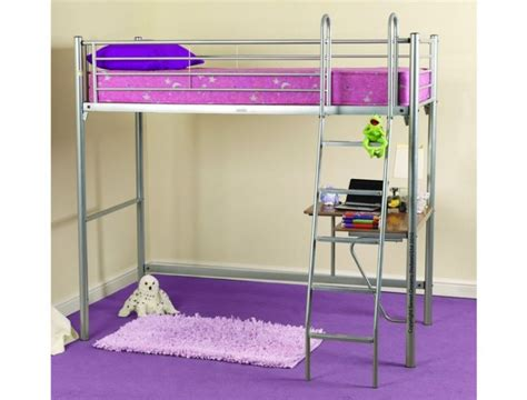 Metal High Sleeper Bed Frame by Sweet Dreams Opal Metal High Sleeper Bed Frame By Sweet Dreams