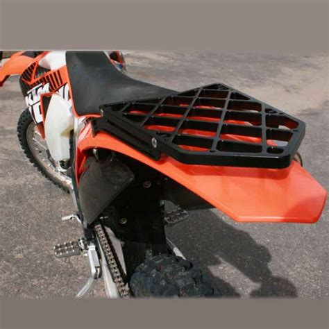 ktm 500 exc luggage rack pro moto billet cargo rack for ktm exc excf xc xcw xcf