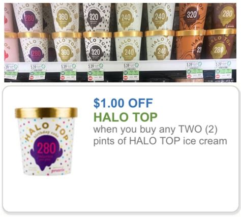 Halo Top Printable Coupon halo top printable coupon sale at publix