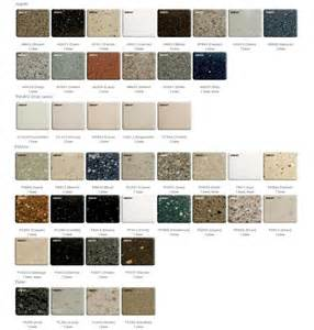 Corian Colors 2013 Solid Surface Colours