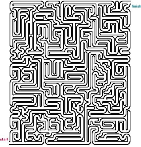 a4 printable maze 1000 images about mazes on pinterest maze circles and