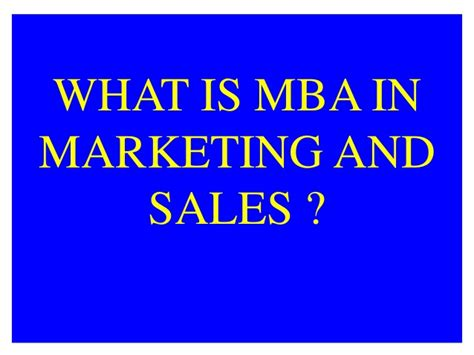 Mba In Marketing Scope by Amity Distance Learning Mba In Marketing And Sales