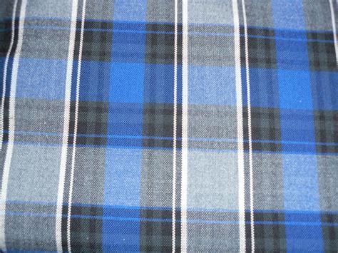 Grey Tartan Upholstery Fabric by Tartan Plaid Fabric Blue 11 Blue Grey White