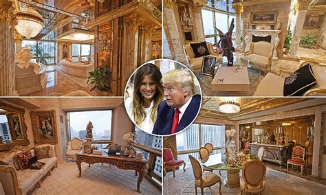 trumps home in tower inside donald trump s 100 million penthouse prepare your jaws to drop photos talk of naija