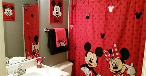 Mickey And Minnie Bathroom Decor - finished mickey and minnie bathroom for my and