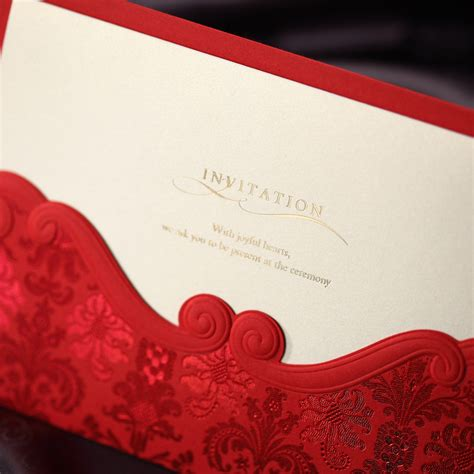 Gift Card Envelope Printing - popular anniversary invitation cards buy cheap anniversary invitation cards lots from