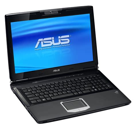 Notebook Asus asus g60 and g71x republic of gamers notebooks debut slashgear
