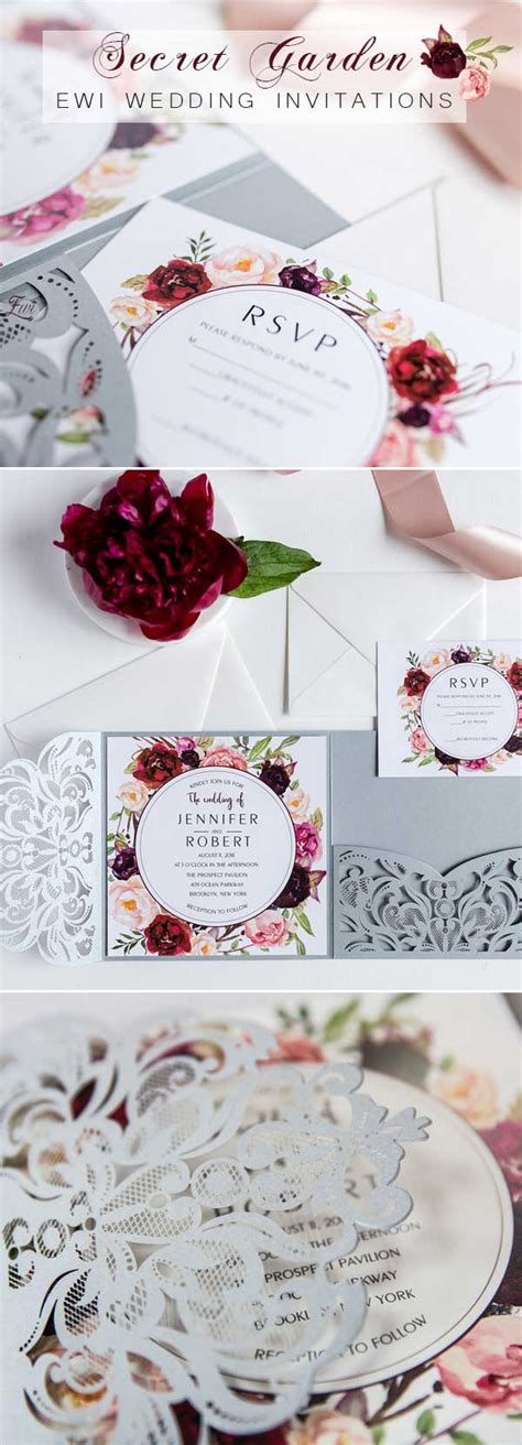 Themed Wedding Invitations by Top 8 Garden Themed Wedding Invitation Cards At