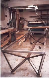 custom metal furniture weld welding welder table on welding table