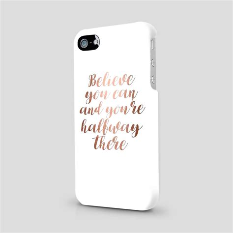 gold printed glitter quotes cover for