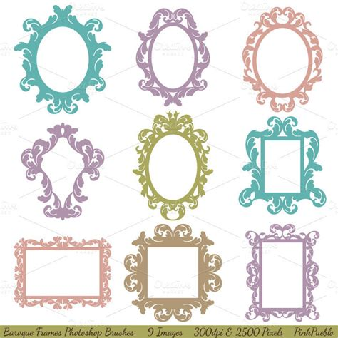 picture frame templates for photoshop 35 photoshop frame brushes free brushes free