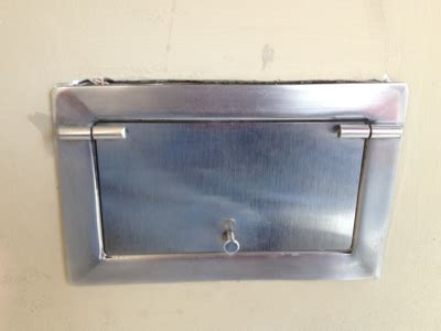stainless steel trap door advanced innovations non ferrous metal fabrication