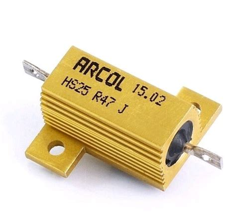10 ohm 25w load resistor coil resistors 25w 50w axial and radial