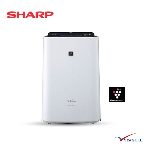 sharp plasmacluster air purifier with humidifying kc d40e kcd60e seagull my aircon